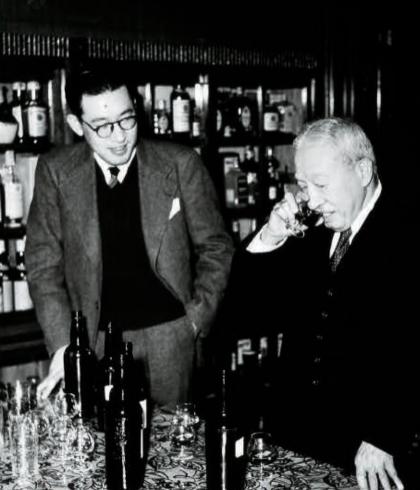 Keizo Saji and Shinjiro Torii
